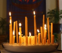 Candles of Joy and Sorrow