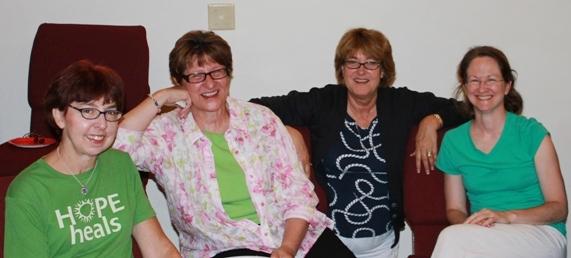 Members at 35th church anniversary