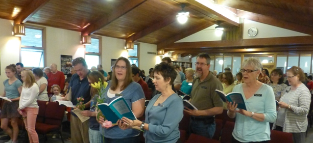 Second Unitarian worship service celebrating members of our Youth Group