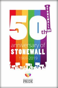 50th Anniversary of Stonewall graphic