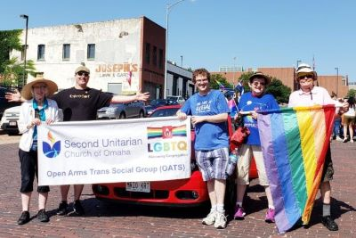 2U members at Heartland Pride Parade